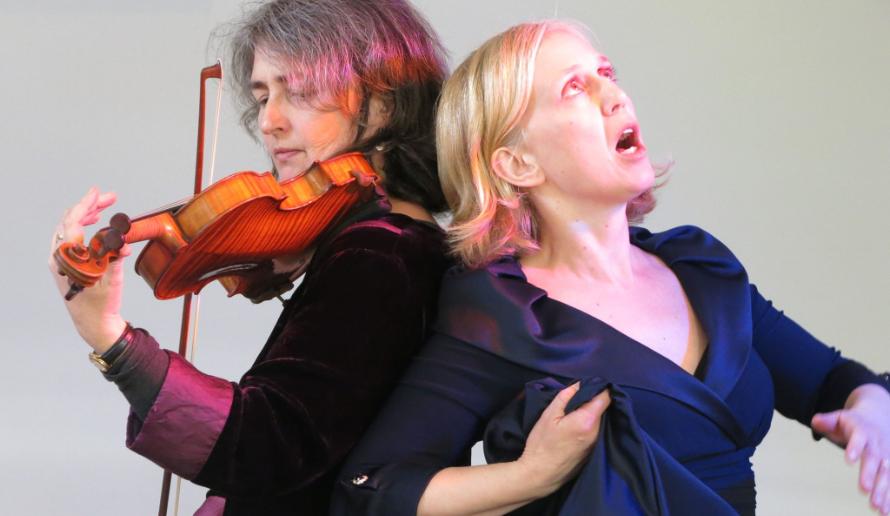 Judith Henderson and Georgie Steele